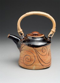 Caddo inspired teapot