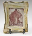 Dessert Plate Lion